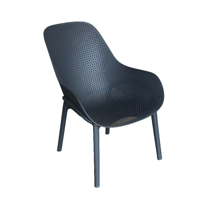 Cradle Charcoal Lounge Chair