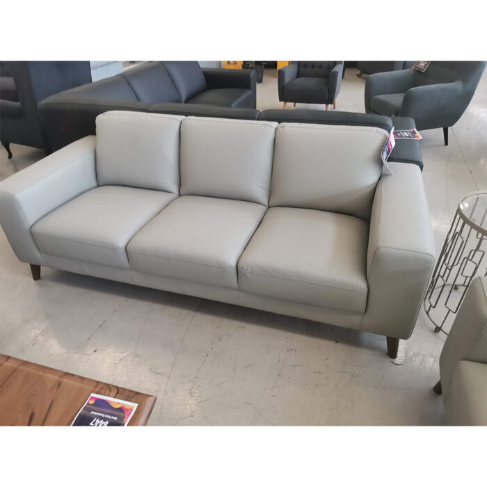 Leah 3 seater pewter